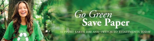 Go Green Save Paper