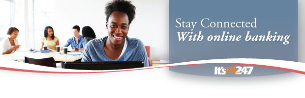 Stay connected with online banking