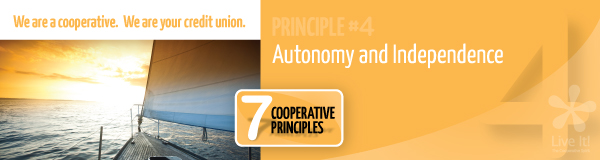 Principle #4: Autonomy and Independence