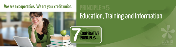 Principle #5: Education, Training and Information
