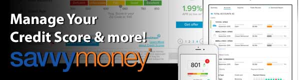 Savvy Money: Login to get started!