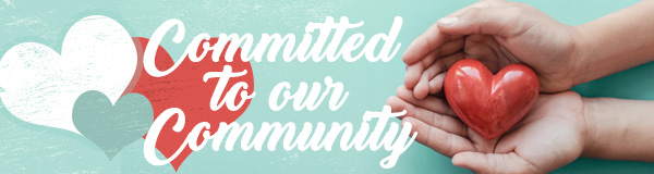 Committed To Our Community