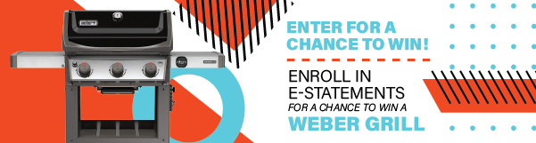 Enroll in E-Statements for a Chance to Win